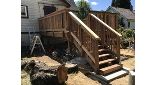 Carpentry - Lake Cowichan Deck Rebuild Project