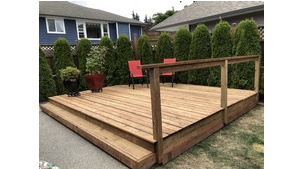 Carpentry - Chemainus Deck Build Project