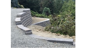 Maple Bay Allan Block Retaining Wall Gallery