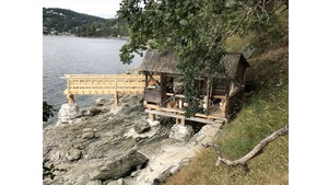 Carpentry - Maple Bay Boathouse Walkway Project